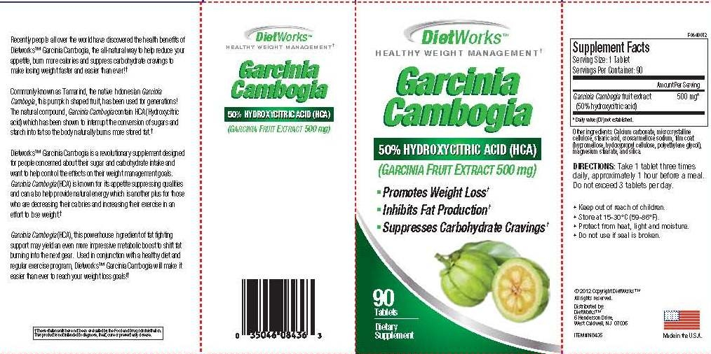 Windmill Vitamins DietWorks Garcinia Cambogia 90 Count Tablet