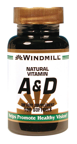 Windmill A & D Softgels
