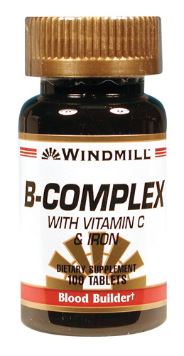 Windmill B Complex with C & Iron Tablets