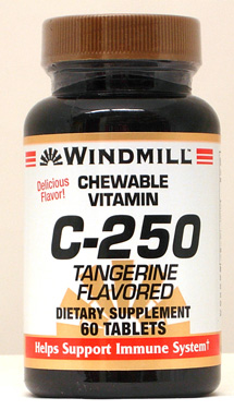 Windmill C-250 mg. Chewable