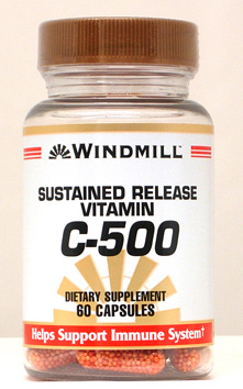 Windmill C-500 mg. Sustained Release Capsules