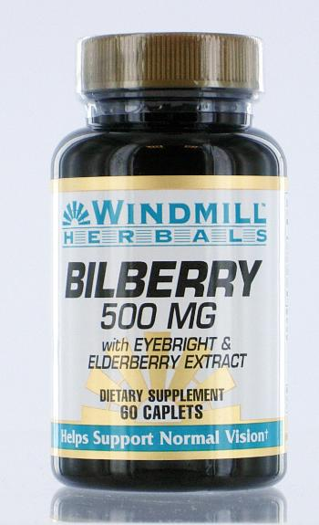 Windmill Bilberry 500mg
