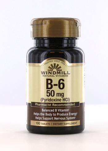 Windmill B-6 50 mg. Tablets