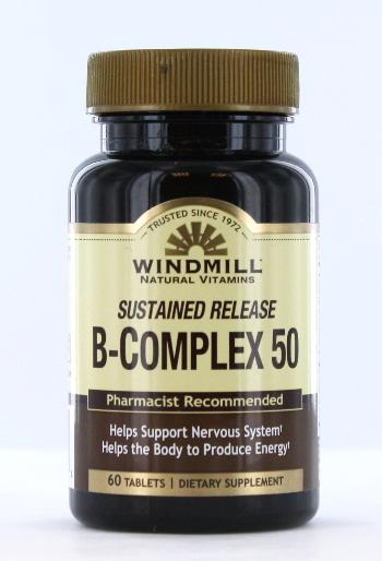 Windmill B-Complex 50 Sustained Release Tablets