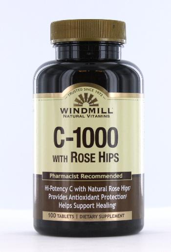 Windmill C-1000 with Rose Hips Tablets