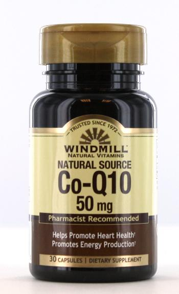 Co-Enzyme Q-10 50 mg. Capsules