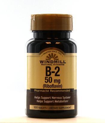 Windmill B-2 50 mg. Tablets