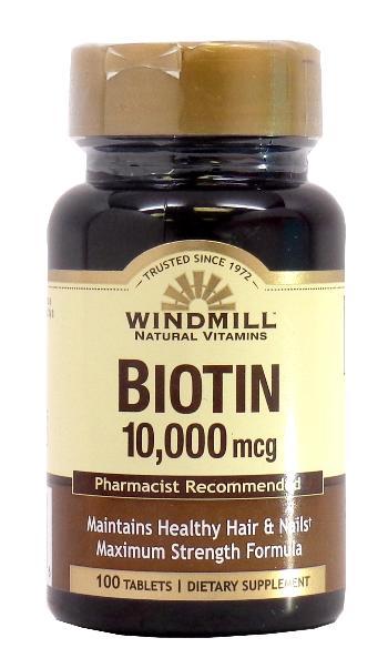 Windmill Biotin 10,000 mcg