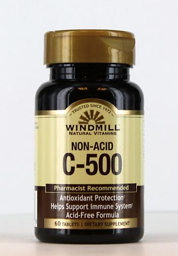 Windmill C-500 mg. Non Acid Tablets