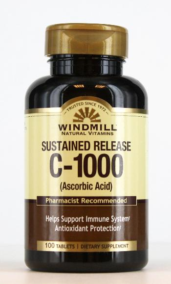 Windmill C-1000 mg. Sustained Release Tablets