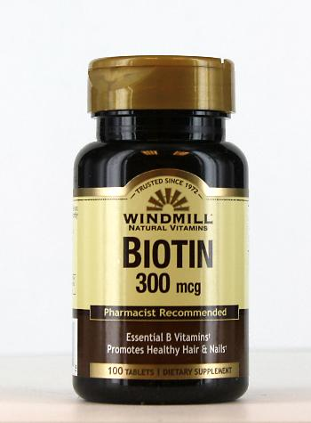Windmill Biotin 300 mcg. Tablets