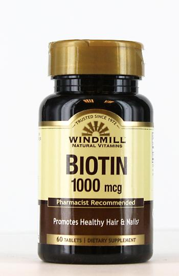 Windmill Biotin 1000 mg. Tablets
