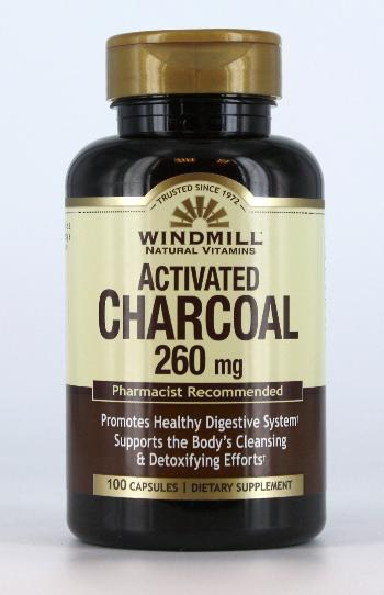 Windmill Activated Charcoal 260mg