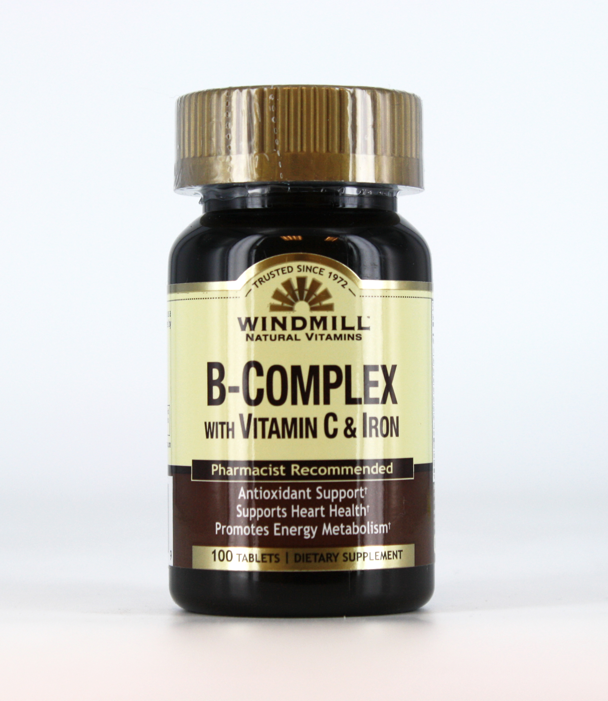 B Complex With C Amp Iron Windmill Vitamins