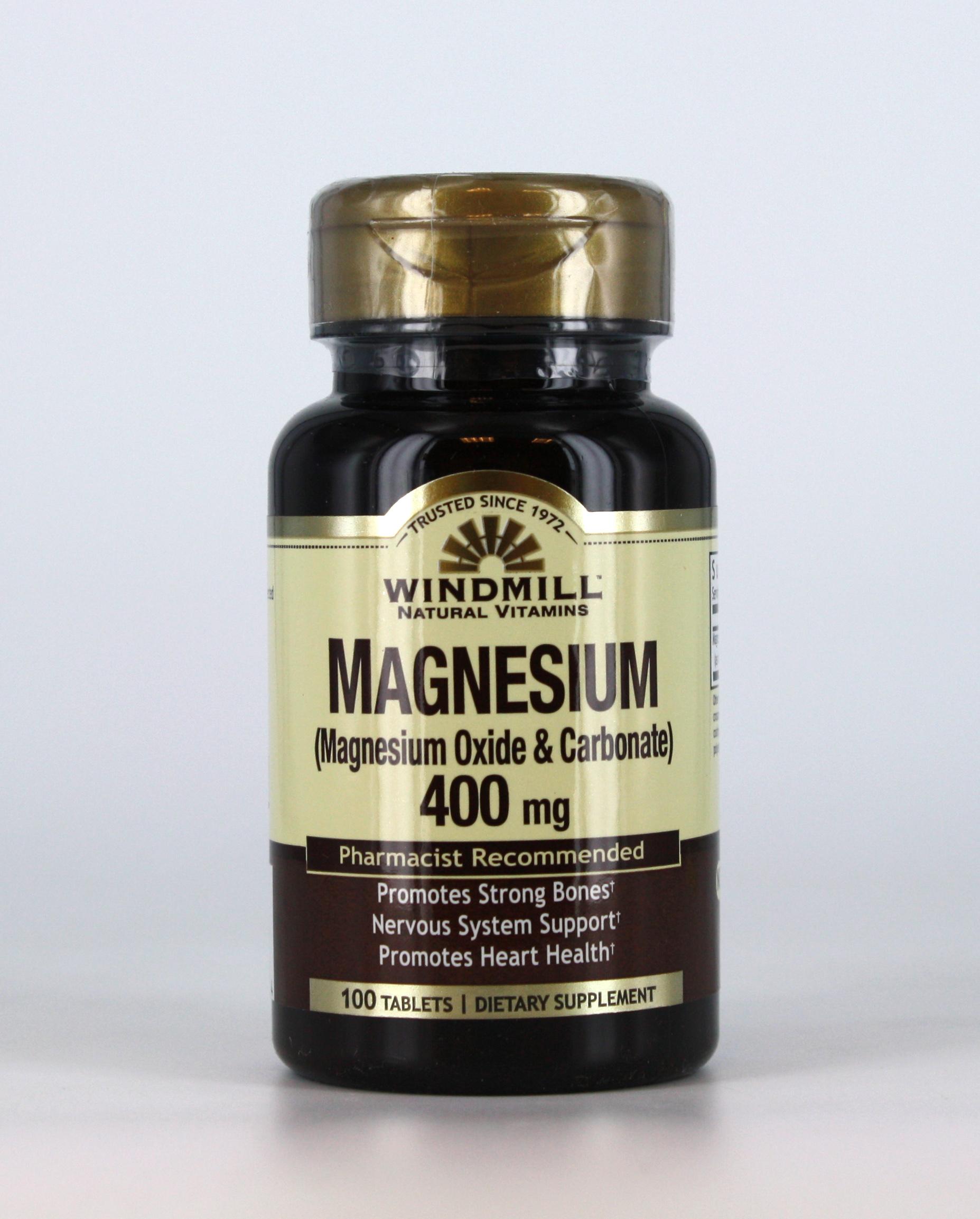 Magnesium Oxide Uses : Magnesium oxide mg windmill vitamins