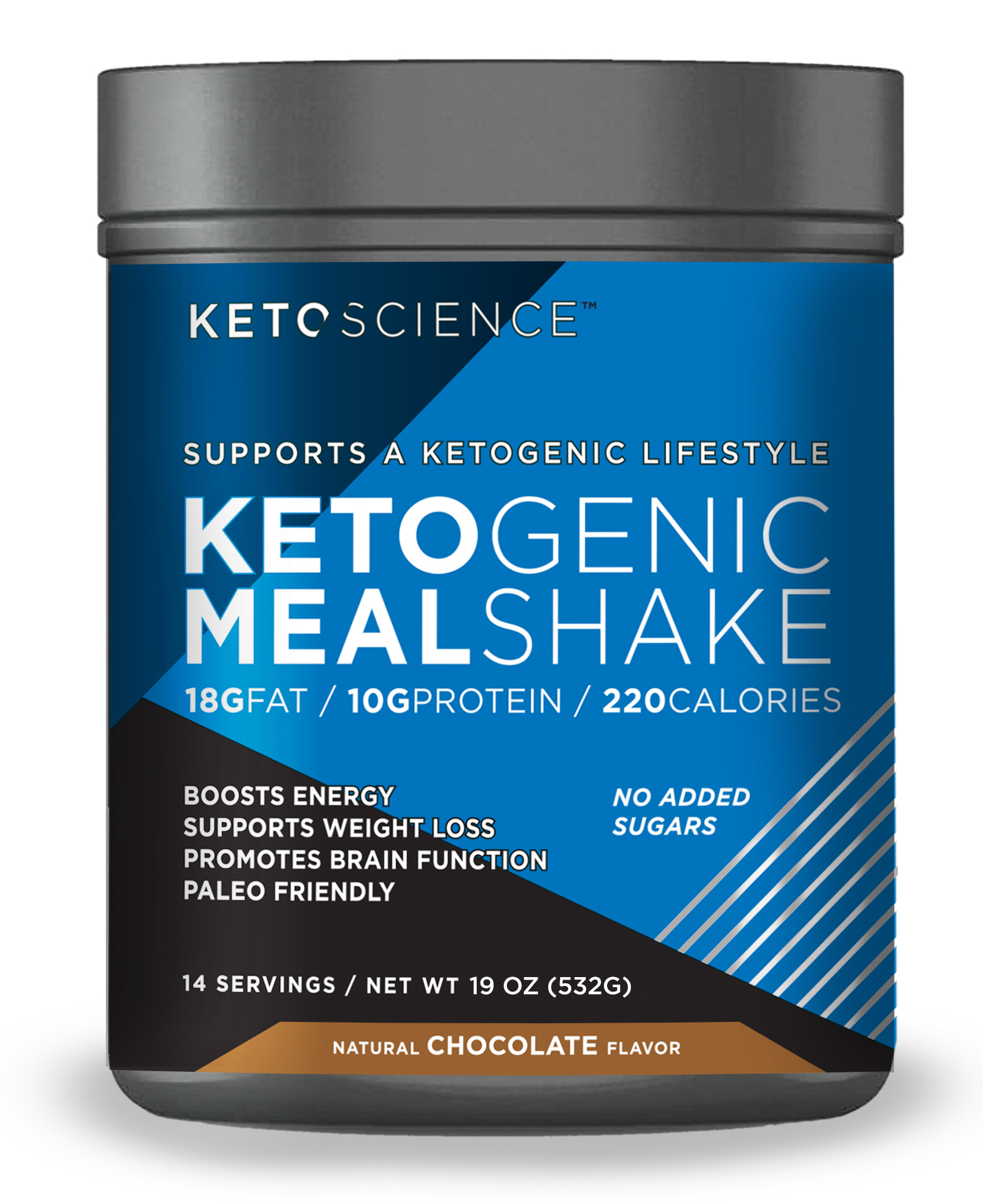 Keto Science Ketogenic Meal Shake - Chocolate - Windmill Vitamins