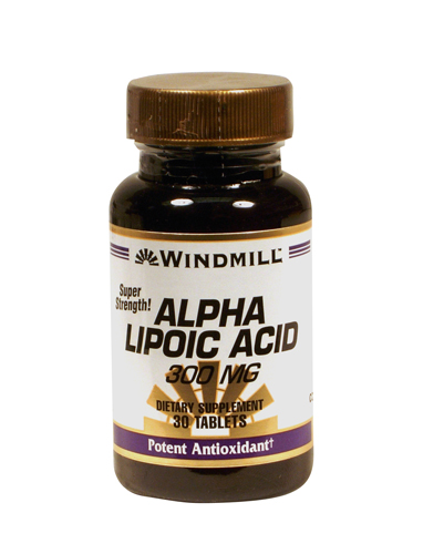 Windmill Alpha Lipoic Acid 300 mg Tablets