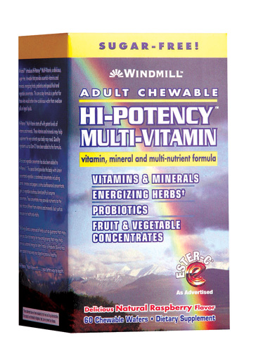 Windmill Adult Chewable Multi-Vitamin Wafer